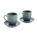 Set 2 tazzine caffé porcellana